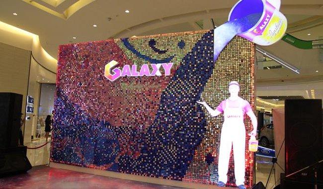 Những trải nghiệm sôi động cùng sơn galaxy tại Crescent Mall