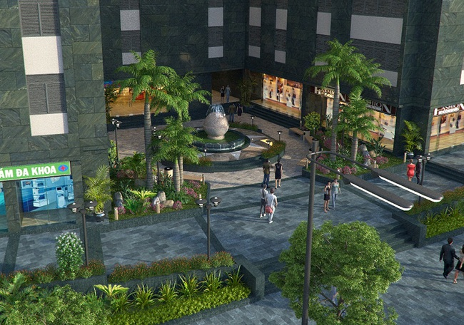 CĐT Hateco công bố thiết kế chính thức cảnh quan nội khu Hateco Hoàng Mai