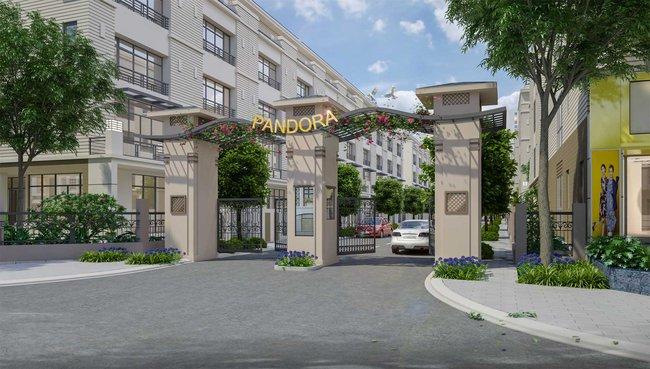 Nhà vườn, nhà phố Pandora thu hút khách hàng Thủ Đô