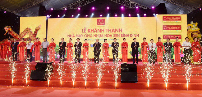 Tập đoàn Hoa Sen từng bước hiện thực hóa mục tiêu đạt 1,5 tỷ USD doanh thu năm 2017
