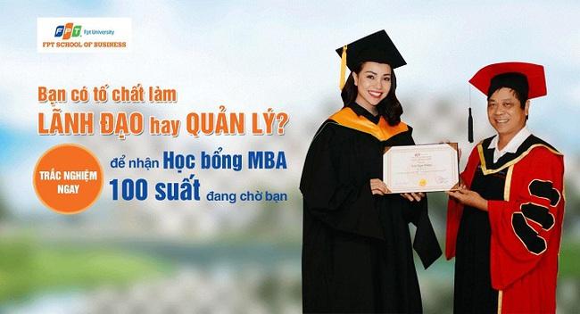 Trắc nghiệm tố chất Lãnh đạo & nhận học bổng MBA