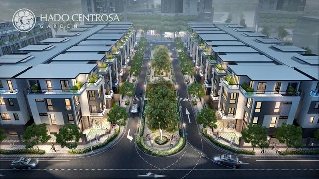 Hado Centrosa Garden – Vị thế trung tâm xứng tầm đẳng cấp