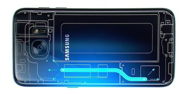 Galaxy S7 chiều lòng game thủ với công nghệ tản nhiệt chất lỏng độc đáo