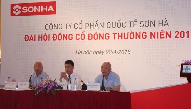 Đại hội Cổ đông Sơn Hà đặt mục tiêu doanh thu 2.500 tỷ đồng năm 2016