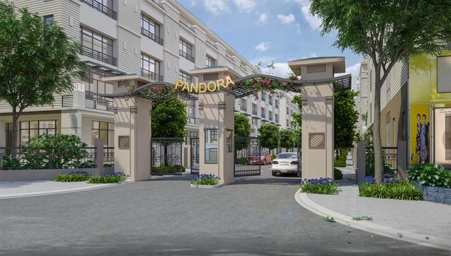 Nhà mẫu Pandora mở cửa đón khách