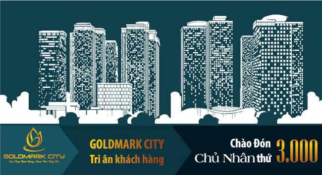 Goldmark City Tri ân khách hàng, chào đón chủ nhân thứ 3.000