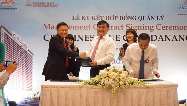 Tập đoàn Ascott ký hợp đồng quản lý căn hộ Hòa Bình Green Đà Nẵng