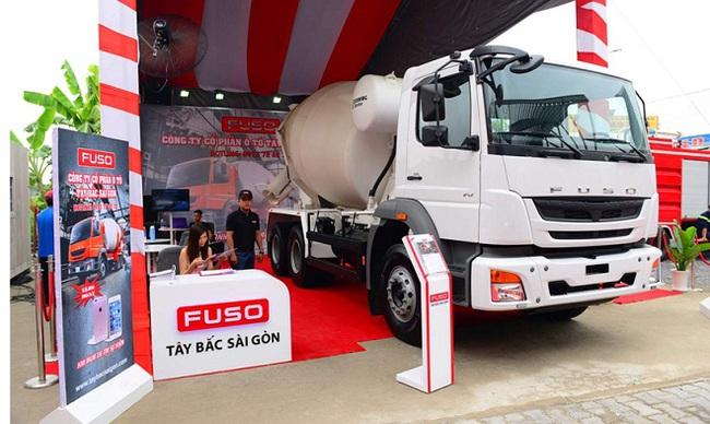 FUSO Việt Nam giới thiệu xe bồn trộn FUSO Mixer FJ