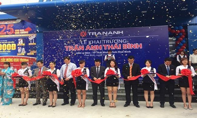 Trần Anh chuẩn bị khai trương đại trung tâm điện máy lớn nhất Yên Bái