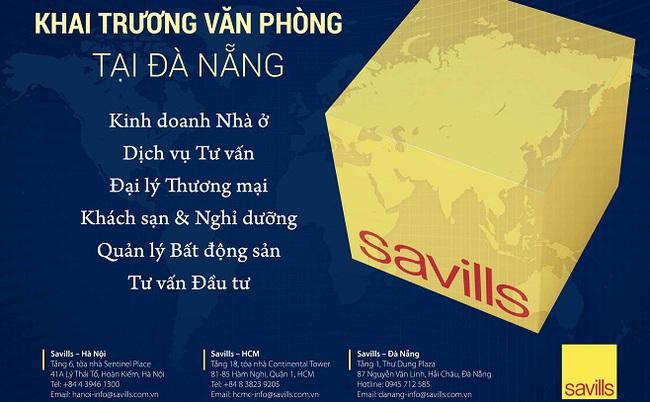 Savills Việt Nam mở văn phòng đại diện tại Đà Nẵng