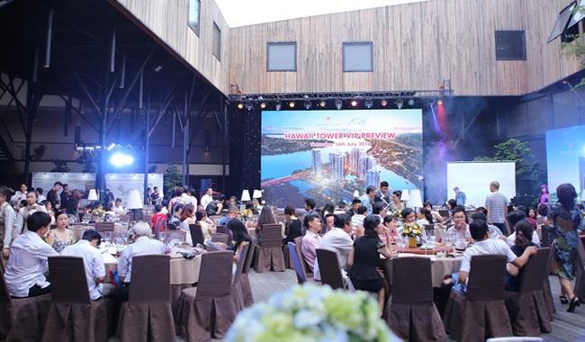 Hơn 70% khách mời đặt mua căn hộ Hawaii ngay trong ngày ra mắt đầu tiên