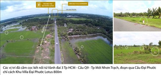 Vành đai 3, cầu Cát Lái kết nối TPHCM với Đồng Nai tăng sức hấp dẫn choĐại Phước Lotus