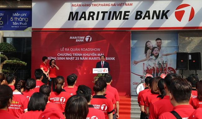 Maritime Bank dành ưu đãi đặc biệt tới khách hàng nhân dịp 25 năm thành lập