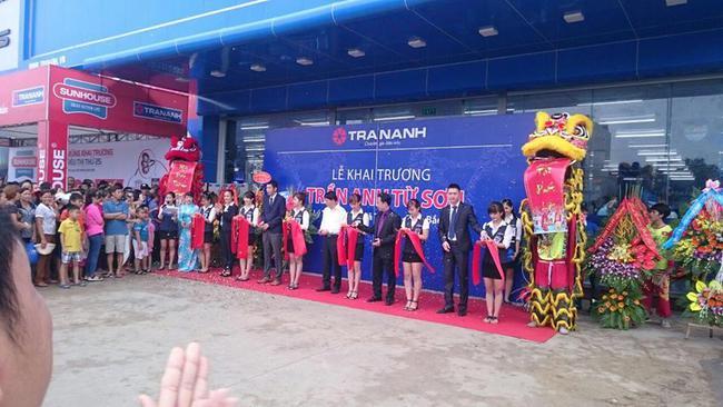 Trần Anh khai trương đồng loạt 2 siêu thị tại Miền Bắc