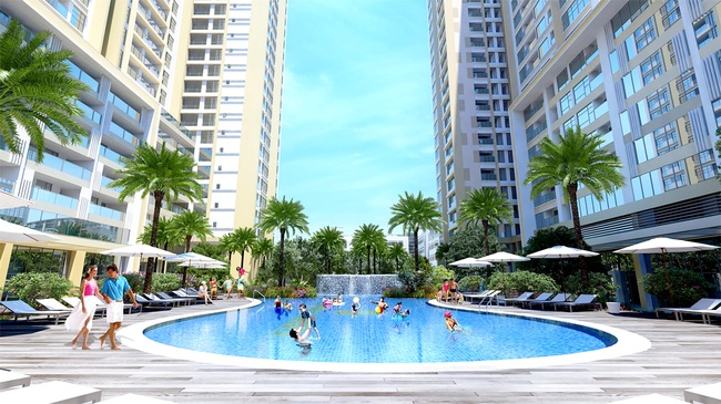 480 triệu đồng có thể mua căn hộ cao cấp, khu trung tâm TP.HCM?