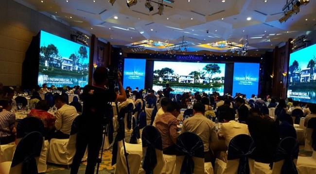 Biệt thự Grand World Phú Quốc thể hiện sức hấp dẫn trong ngày mở bán