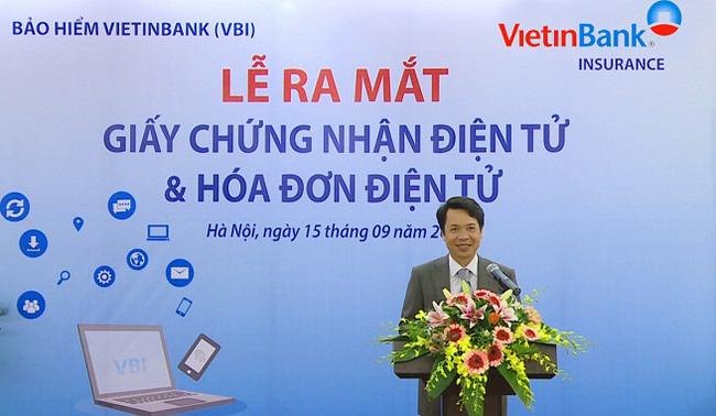 VBI chính thức phát hành Giấy chứng nhận bảo hiểm Điện tử và Hóa đơn Điện tử