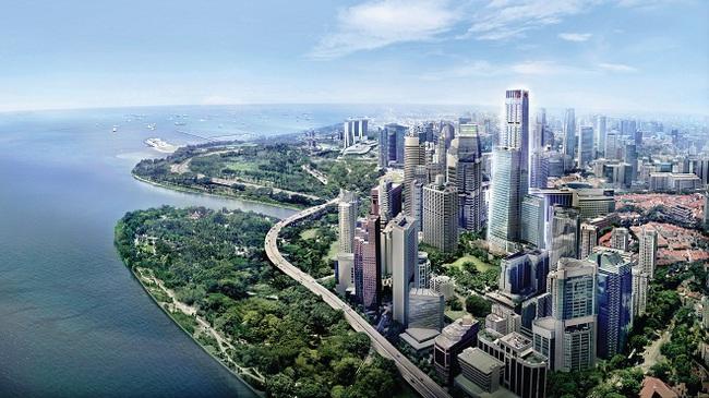 Ấn tượng với Tòa nhà phá kỷ lục cao nhất Singapore 20 năm qua