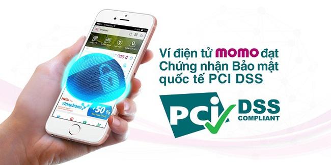 Ví điện tử MoMo đạt Chứng nhận Bảo mật quốc tế PCI DSS