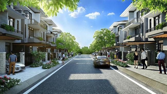 Biệt thự phố Lavila hòa cùng xu hướng sống xanh