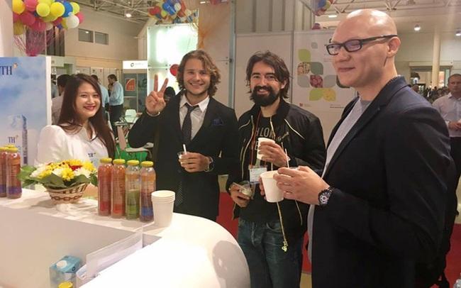 TH true MILK lại thắng lớn tại Triển lãm thực phẩm quốc tế