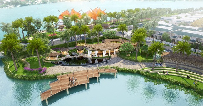 Sắc màu Địa Trung Hải trong biệt thự ven sông Sài Gòn
