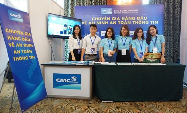 CMC mang đến các giải pháp bảo mật toàn diện cho hệ thống tại ICT Summit 2016