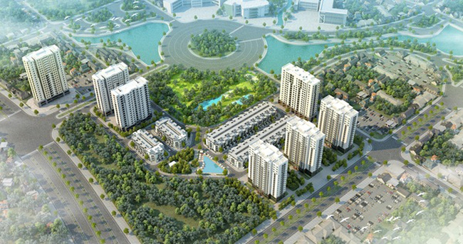 EZ Việt Nam phân phối chung cư Xuân Phương Tasco