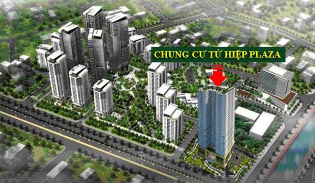 """Tứ Hiệp Plaza """"hâm nóng"""" thị trường bất động sản Hà Nội khi được ngân hàng Vietinbank bảo lãnh"""