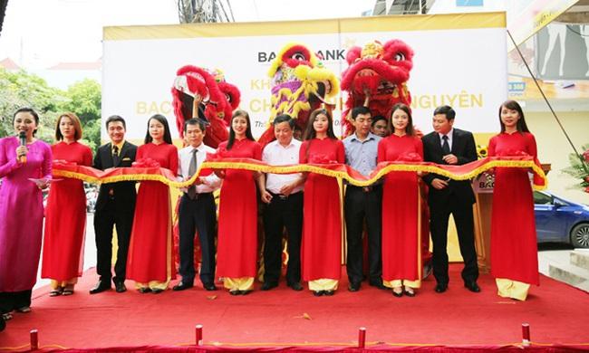 BAC A BANK khai trương Chi nhánh tại Thái Nguyên