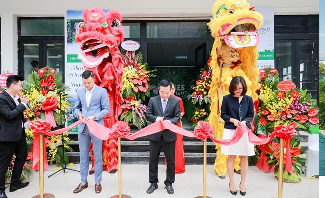 Homes Real Estate tưng bừng khai trương văn phòng mới tại dự án Vinhomes Gardenia