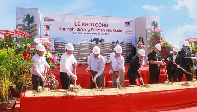Khởi công xây dựng khu nghỉ dưỡng Pullman Phú Quốc