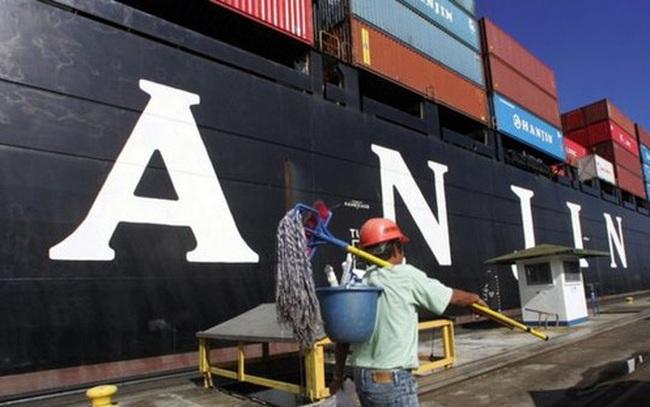 """Hàn Quốc bơm tiền cứu """"đại gia"""" vận tải biển Hanjin phá sản"""