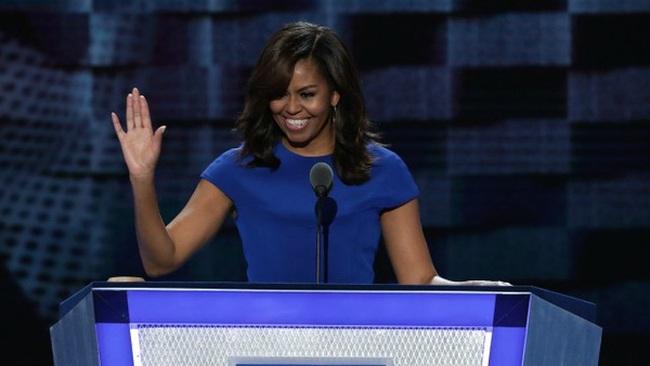 Bầu cử Mỹ: Vợ Obama chỉ trích Trump mà không cần nhắc tới cái tên Donald Trump