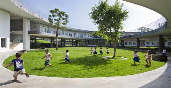 Trường mầm non ở Biên Hòa lọt top 30 công trình đẹp nhất thế giới