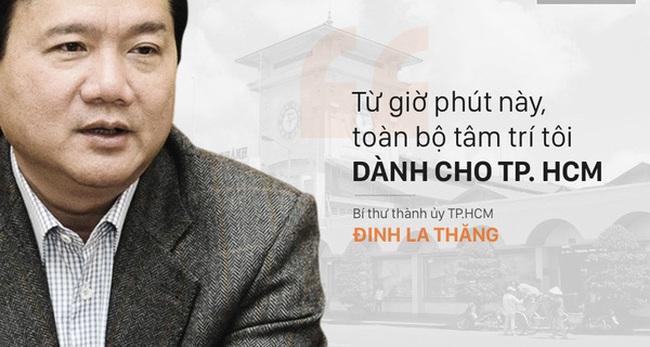 """Chỉ cần 15 ngày, ông Đinh La Thăng đã vô cùng """"nổi bật"""" trong vai trò Bí thư thành ủy"""