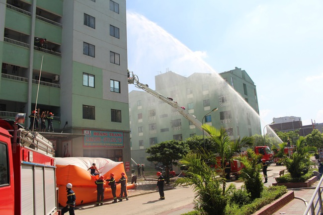 Hà Nội tổng kiểm tra an toàn cháy nổ tại các chung cư, trung tâm thương mại
