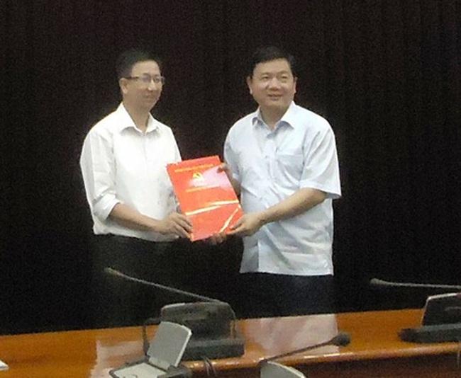Ông Phạm Đức Hải nhận công tác tại HĐND TPHCM