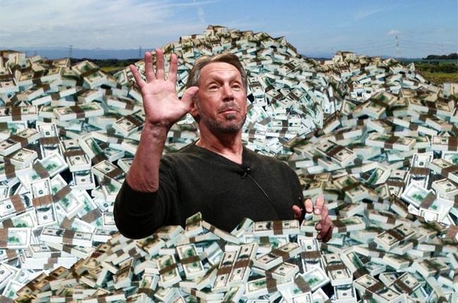 """Khối tài sản khổng lồ của """"ông vua chịu chơi"""" bậc nhất thế giới: Tỷ phú Larry Ellison"""