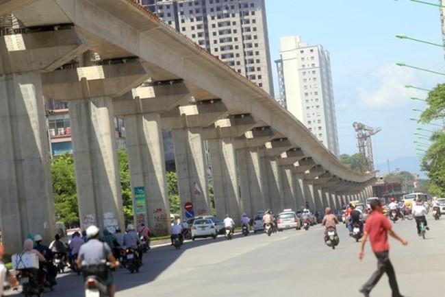 Bộ Giao thông Vận tải thúc dự án đường sắt Cát Linh - Hà Đông hoàn thành trước 31/12/2016