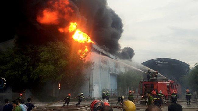 Công ty nệm Vạn Thành thiệt hại 85 tỉ đồng sau vụ cháy