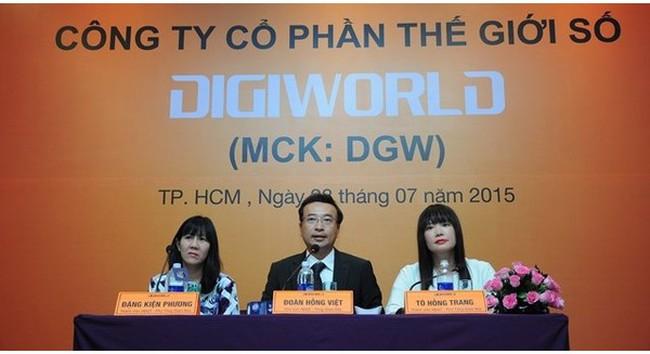 """Digiworld và cú """"đổi tay"""" chiến lược"""