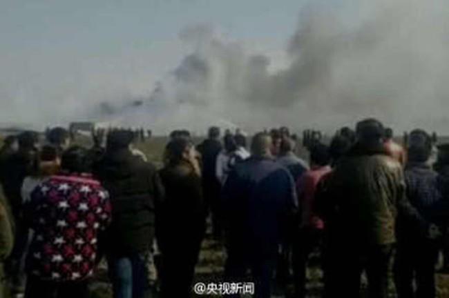 Nổ lớn ở nhà máy pháo hoa Trung Quốc, 12 người thương vong