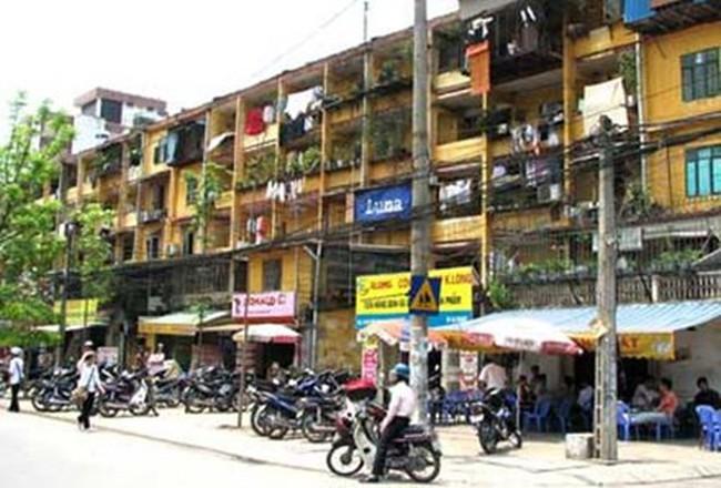 Chờ 'chốt' phương án cải tạo chung cư cũ Hà Nội