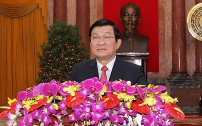 Thư chúc Tết Bính Thân 2016 của Chủ tịch nước