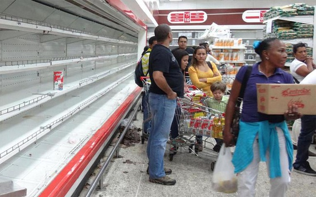 Venezuela có thể sắp hết sạch tiền