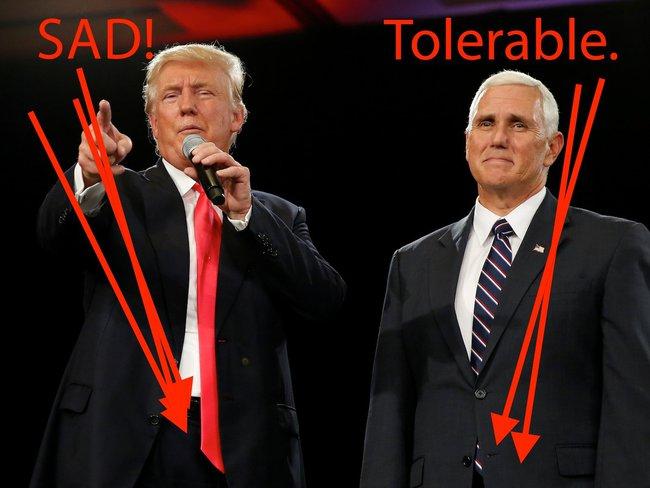 Phái mạnh xin đừng mắc lỗi trang phục cơ bản như ứng viên Tổng thống Donald Trump