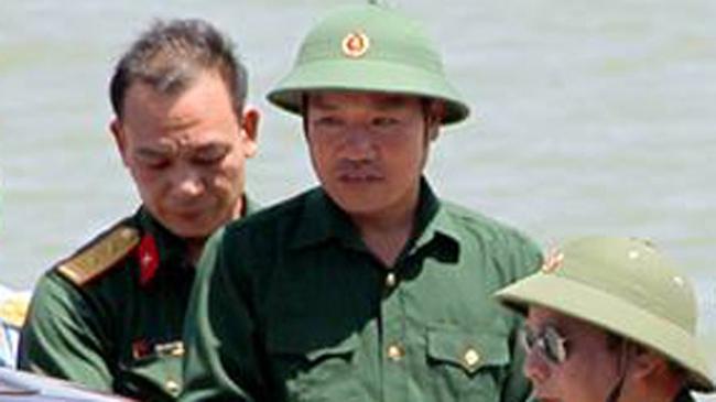 Phi công Nguyễn Hữu Cường đã cập bờ an toàn