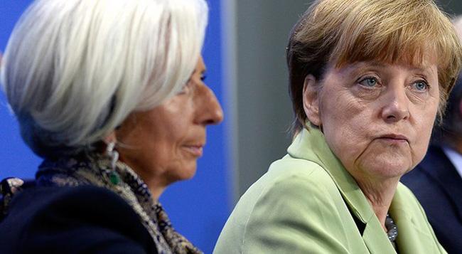 Hy Lạp chỉ là quân tốt trong bàn cờ lớn giữa IMF với Đức