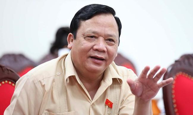 Trình Quốc hội xem xét miễn nhiệm Phó Chủ tịch Quốc hội Huỳnh Ngọc Sơn